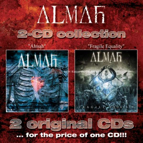 ALMAH - Fragile Equality Special Edition (2-CD)