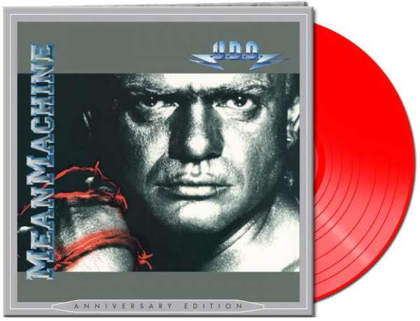 U.D.O. - Mean Machine (LP-red Vinyl)
