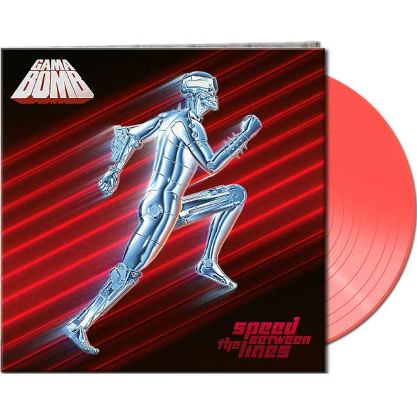 GAMA BOMB - Speed Between The Lines - Ltd. Gatefold CLEAR RED Vinyl