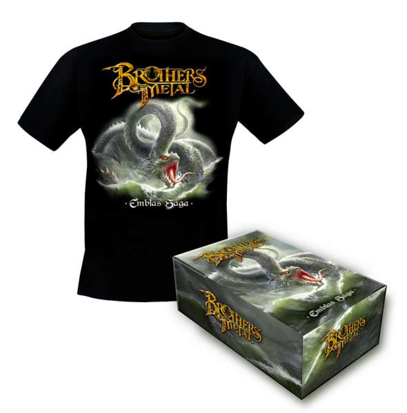 BROTHERS OF METAL - Emblas Saga - Bundle: Ltd.Boxset + TS-M-XXL