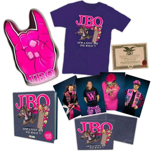 J.B.O. - Wer lässt die Sau raus?! - Ltd. Boxset (incl. T-Shirt L/XL)