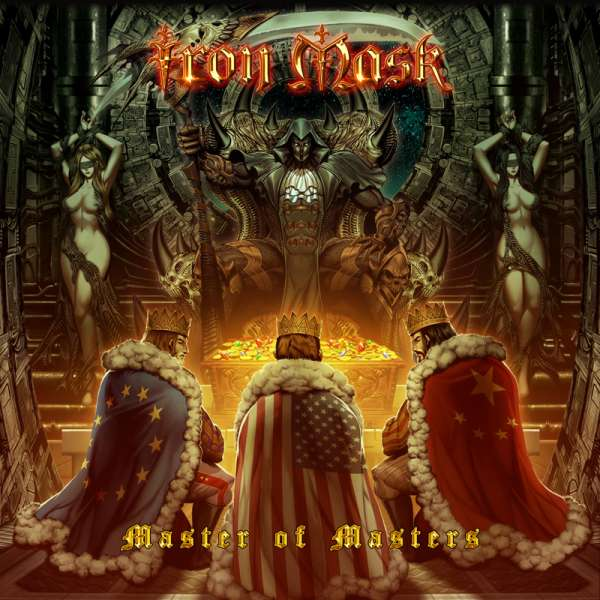 IRON MASK - Master Of Masters - CD Jewelcase