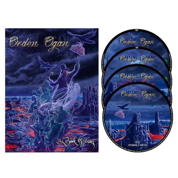 ORDEN OGAN – The Book Of Ogan - Deluxe 2DVD/2CD Box Set