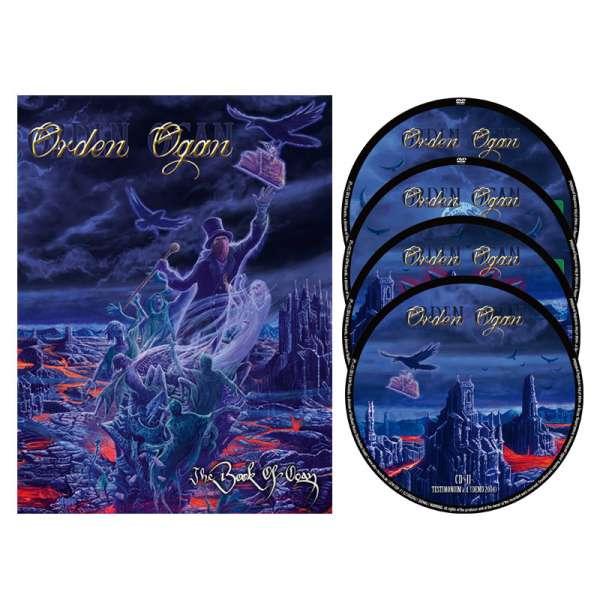 ORDEN OGAN – The Book Of Ogan - Deluxe 2DVD/2CD Box Set