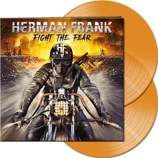 HERMAN FRANK - Fight The Fear - Ltd. Gatefold CLEAR ORANGE 2-Vinyl