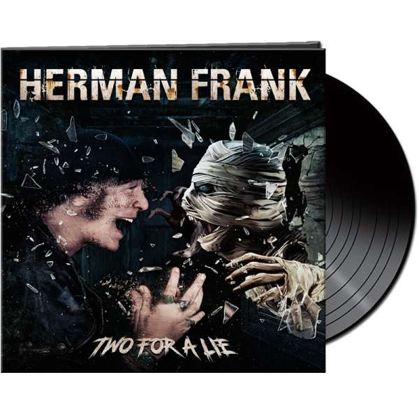 HERMAN FRANK - Two For A Lie - Ltd. Gatefold BLACK Vinyl