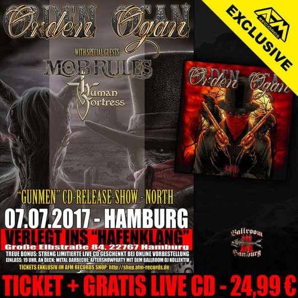 ORDEN OGAN - Gunmen Release Show Hamburg - Ticket