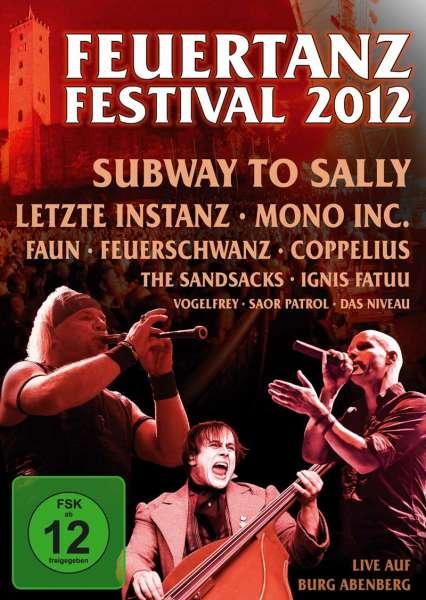 VARIOUS ARTIST - Feuertanz Festival 2012 (DVD)