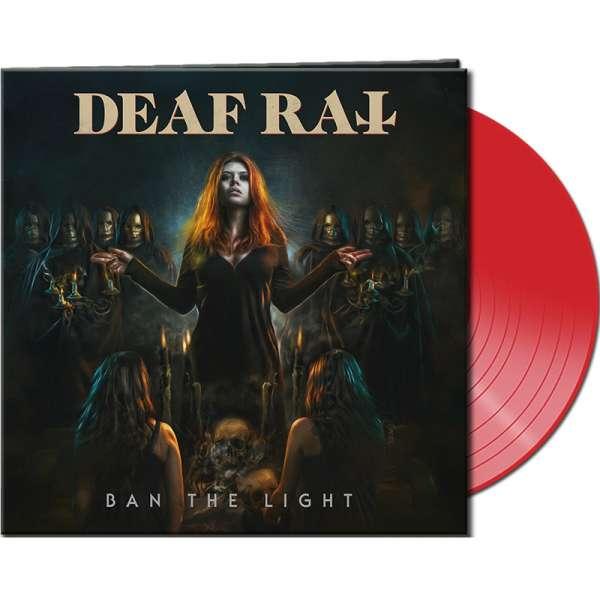 DEAF RAT - Ban The Light - Ltd. CLEAR RED Vinyl