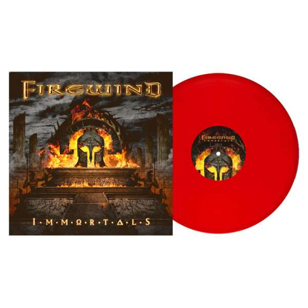 FIREWIND – Immortals (US Import) - Ltd. Gtf. Solid Red Vinyl + Poster