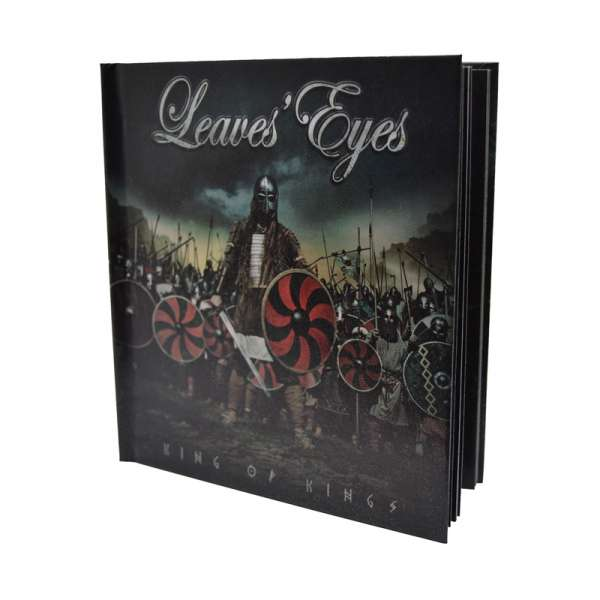 LEAVES' EYES - King Of Kings - Ltd. 2CD-Digibook + Bonustracks
