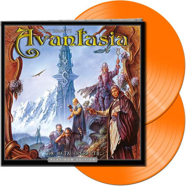 AVANTASIA - The Metal Opera Pt. II (Platinum Edition) - Ltd. Gatefold ORANGE 2-LP