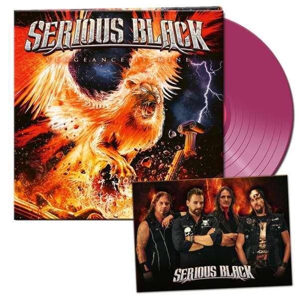 SERIOUS BLACK - Vengeance Is Mine - Ltd. Gatefold CLEAR VIOLETT LP