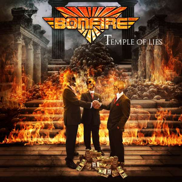 BONFIRE - Temple Of Lies - CD Jewelcase