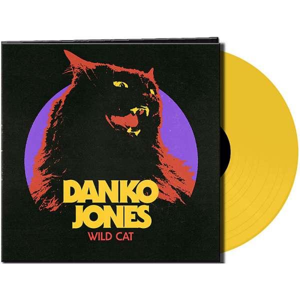 DANKO JONES - Wild Cat - Ltd. Gtf. Yellow Vinyl