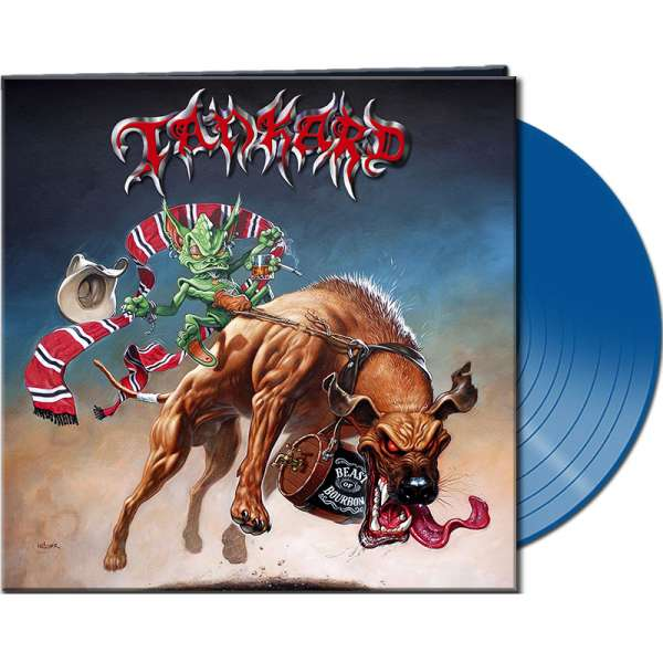 TANKARD - Beast Of Bourbon - Ltd. BLUE Vinyl