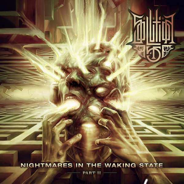 Solution .45 - Nightmares In The Waking State-Part II - CD Jewelcase