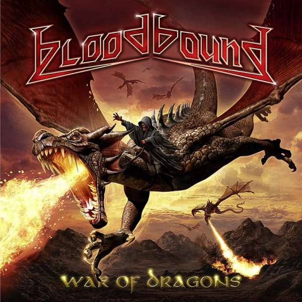 BLOODBOUND - War Of Dragons - Ltd. 2CD Digipak