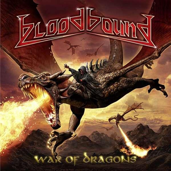 BLOODBOUND - War Of Dragons - Ltd. 2CD Digipak