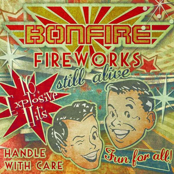 BONFIRE - Fireworks… Still Alive!!! - CD Jewelcase