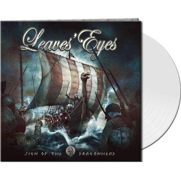 LEAVES' EYES - Sign Of The Dragonhead - Ltd. Gtf. White Vinyl