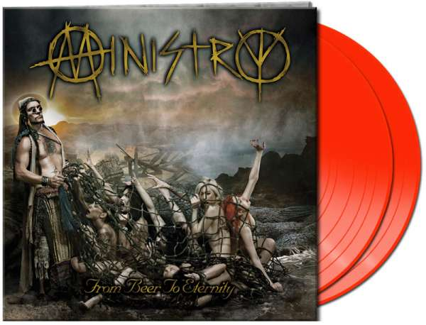 MINISTRY - From Beer To Eternity (2LP - red)