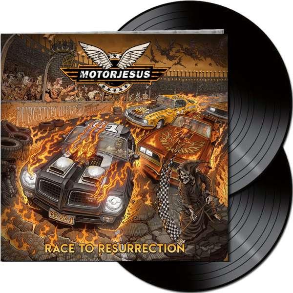 MOTORJESUS - Race To Resurrection - Ltd. Gatefold Black 2-Vinyl