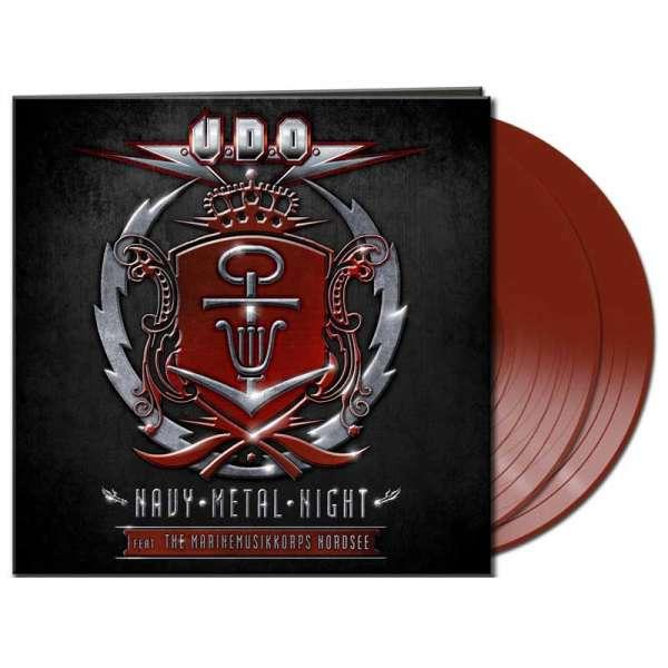 U.D.O. - Navy Metal Night - Gtf.Ltd.Red 2-Vinyl