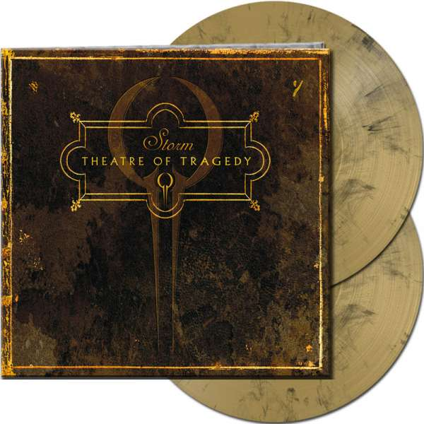 THEATRE OF TRAGEDY - Storm - Ltd. Gatefold GOLD/BLACK MARBLED 2-Vinyl
