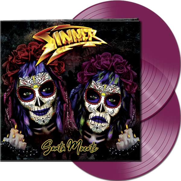 SINNER - Santa Muerte - Ltd. Gatefold CLEAR PURPLE 2-LP