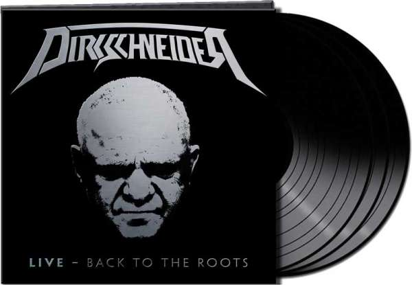 "Dirkschneider - ""LIVE – Back To The Roots"" - Ltd. Gtf. Black 3-Vinyl"