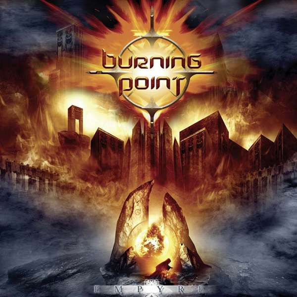 Burning Point - Empyre (re-release) - CD Jewelcase