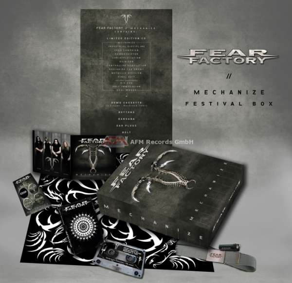 FEAR FACTORY - Mechanize (Festival Box)