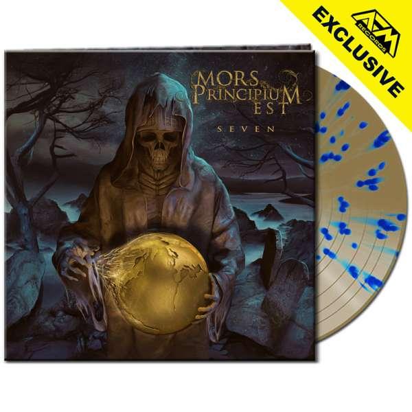 MORS PRINCIPIUM EST - Seven - Ltd. Gatefold GOLD/BLUE SPLATTER LP - Shop Exclusive!