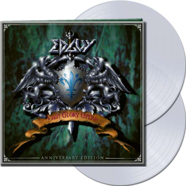 EDGUY - Vain Glory Opera (Anniversary Edition) - Ltd.Gtf. CLEAR 2-LP