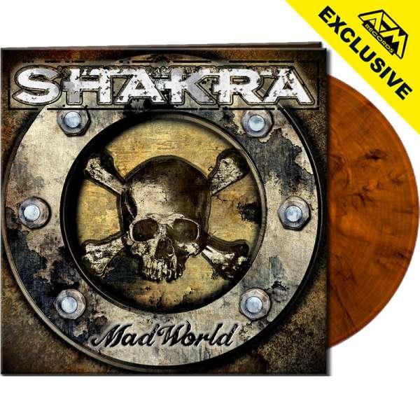 SHAKRA - Mad World - Ltd. Gatefold ORANGE/BLACK MARBLED Vinyl - Show Exclusive !
