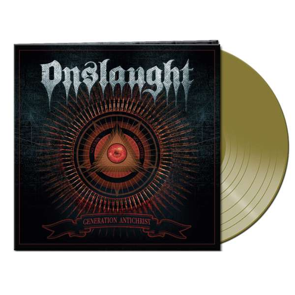 ONSLAUGHT - Generation Antichrist - Ltd. Gatefold GOLD Vinyl
