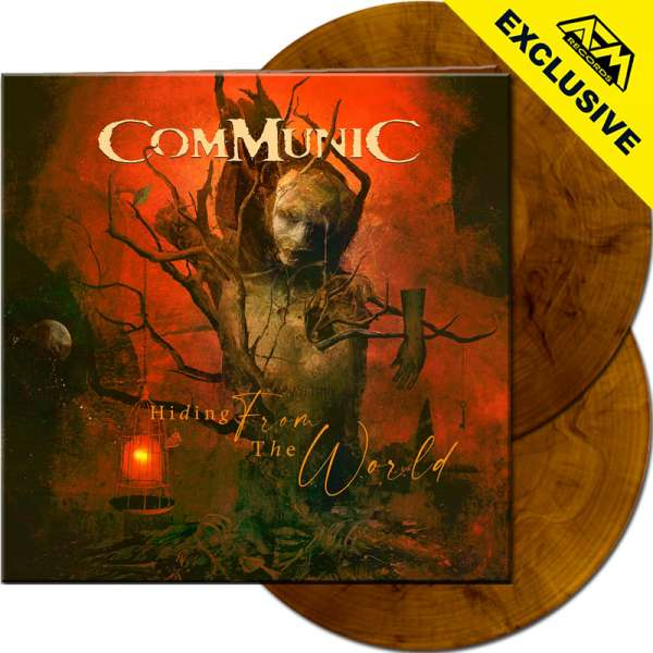 COMMUNIC - Hiding From The World - Ltd. Gtf. CLEAR ORANGE/BLACK MARBLED 2-LP - Shop Exclusive!