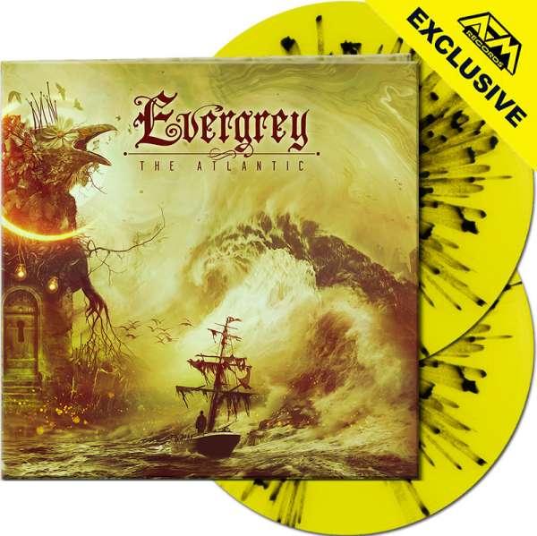 EVERGREY - The Atlantic - Ltd. Gatefold YELLOW/BLACK SPLATTER 2-Vinyl - Shop Exclusive !
