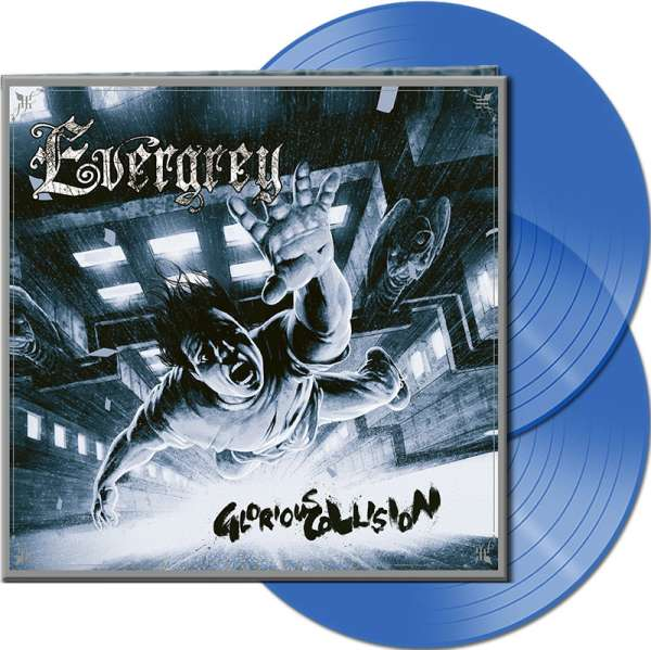 EVERGREY - Glorious Collision (Remasters Edition) - Ltd. Gatefold CLEAR BLUE 2-LP