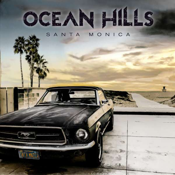 OCEAN HILLS - Santa Monica - Digipak-CD