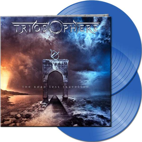 TRIOSPHERE - The Road Less Travelled (Re-Release) - Ltd. Gatefold CLEAR BLUE 2-Vinyl
