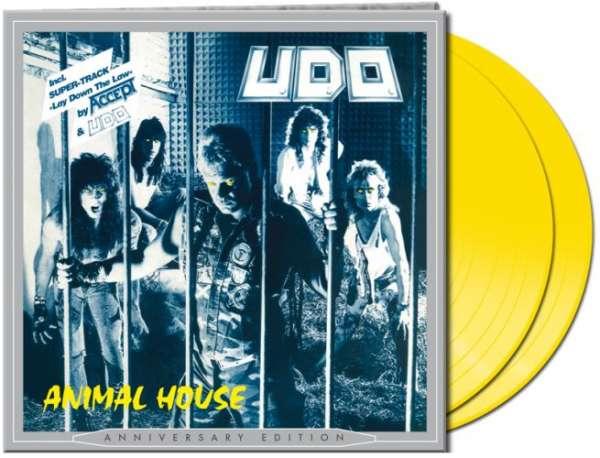 U.D.O. - Animal House (2-LP-yellow Vinyl)
