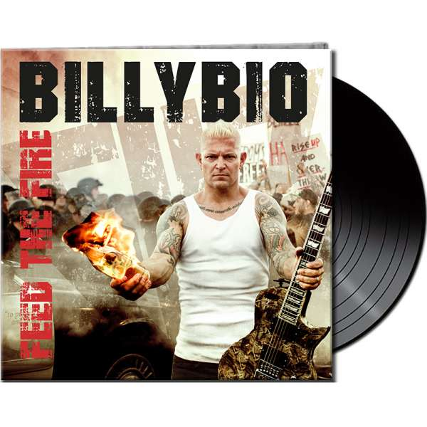 BILLYBIO - Feed The Fire - Ltd. Gatefold BLACK Vinyl