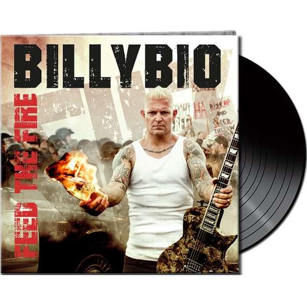 BILLYBIO - Feed The Fire - Ltd. Gatefold BLACK Vinyl