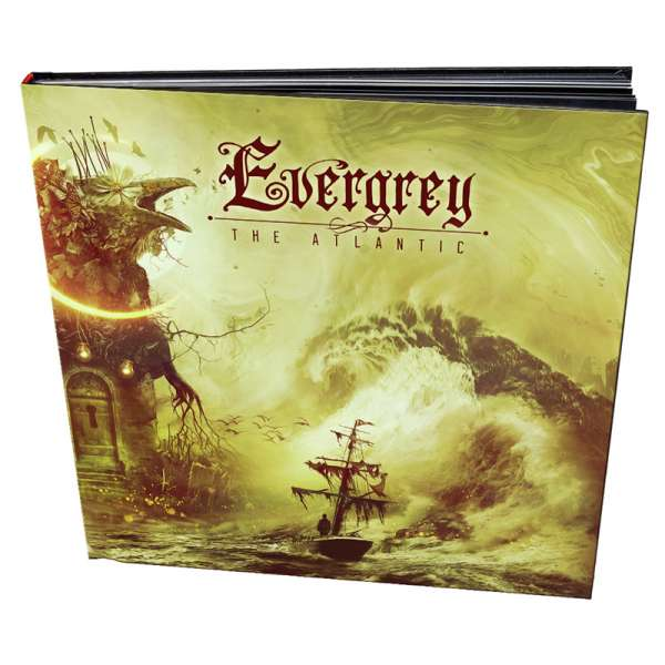 EVERGREY - The Atlantic - Ltd. Hardcover-Artbook incl. CD+DVD