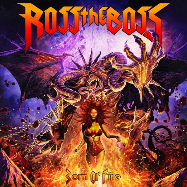ROSS THE BOSS - Born Of Fire - Digipak CD