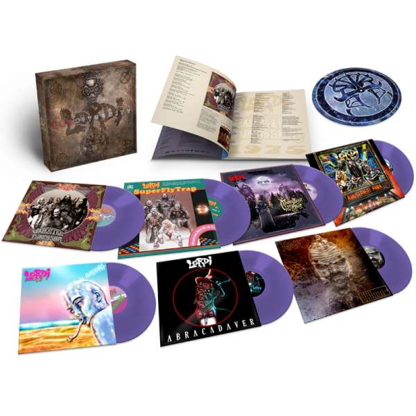 LORDI - Lordiversity - Ltd. 7-LP-Boxset (PURPLE Vinyl)