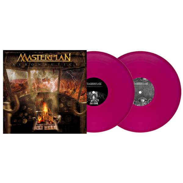 MASTERPLAN - Aeronautics - Ltd. Gtf. Clear-Magenta 2-Vinyl Re-Release