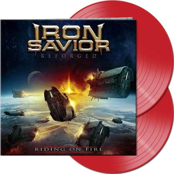 IRON SAVIOR - Reforged - Riding On Fire - Ltd. Gtf. Red 2-Vinyl